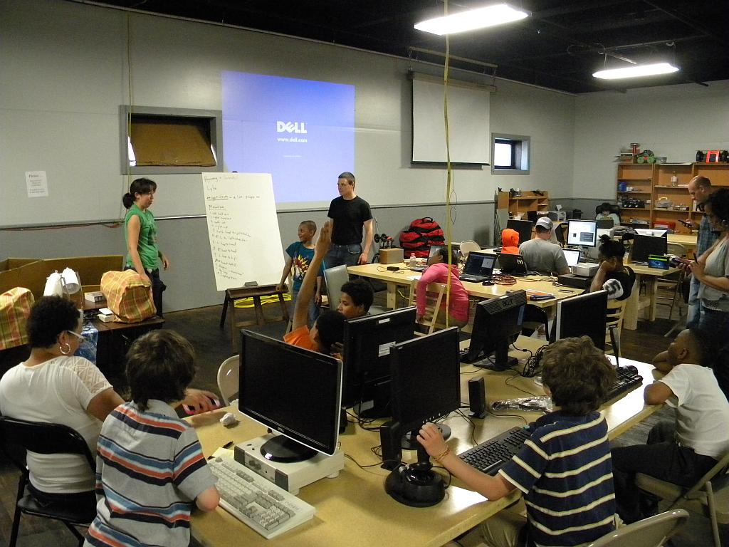 Programming Class for Kids Using Scratch
