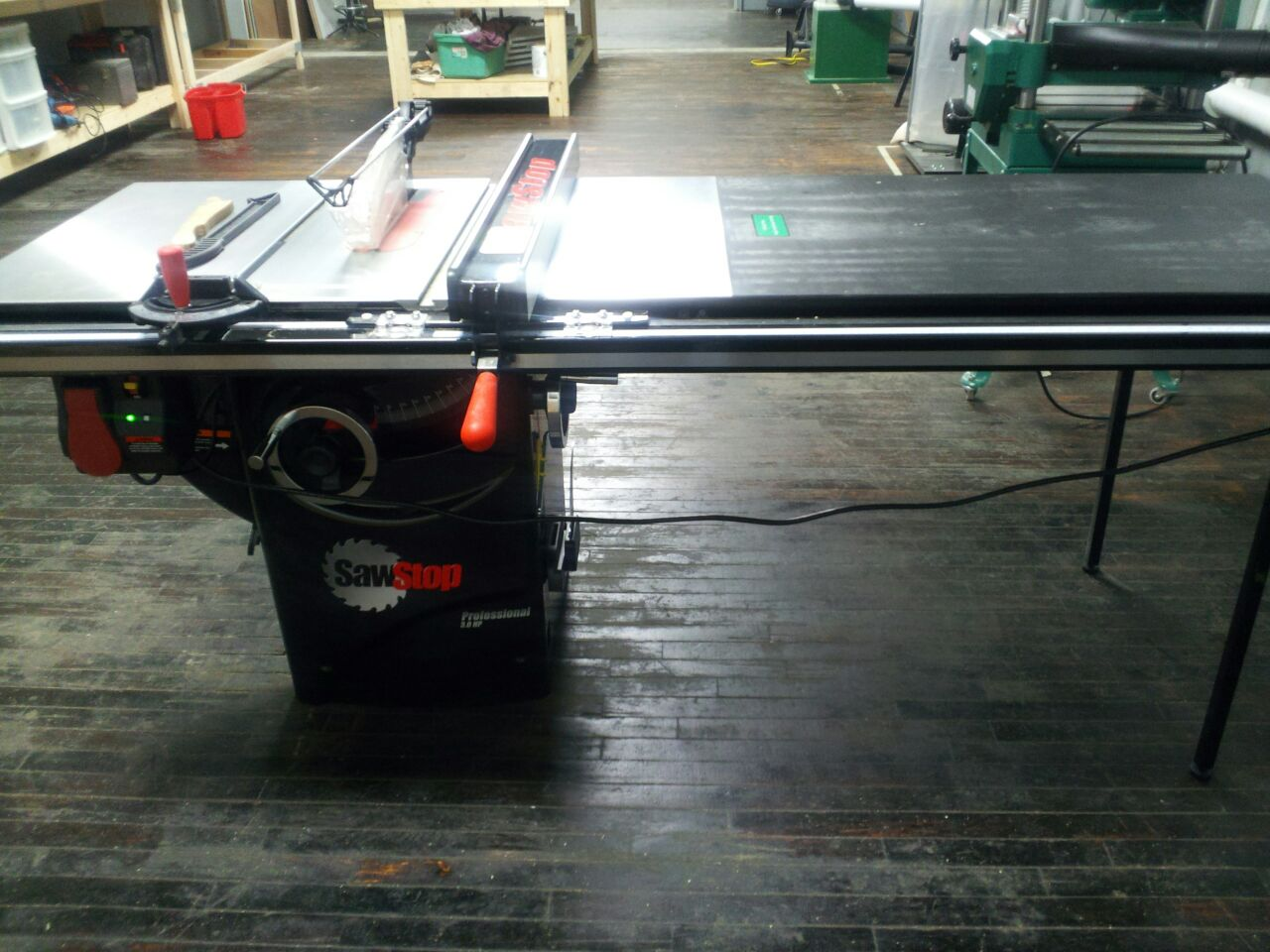 Used Sawstop Table Saw Oliver Wood Lathe For Sale