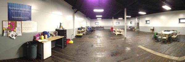 Rochester Makerspace Main Room