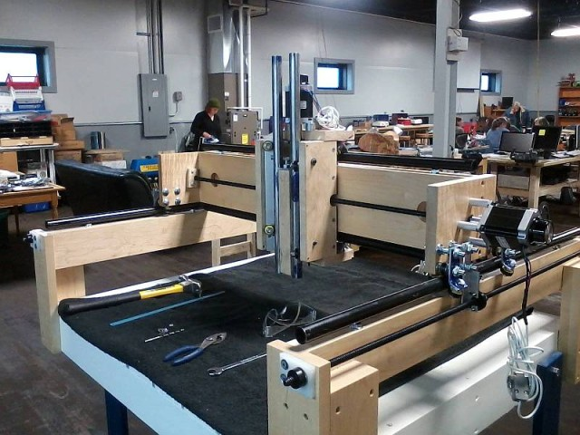 Rochester Makerspace's CNC Router