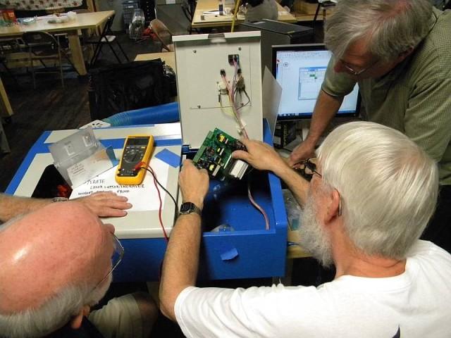 Fixing Laser Cutter