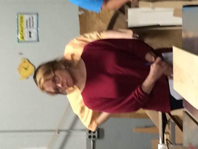 April 30 Woodworking training